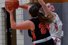 CIAC Girls Basketball; Wolcott vs. Watertown - Photo # 589