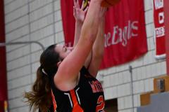 CIAC Girls Basketball; Wolcott vs. Watertown - Photo # 593