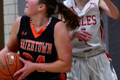 CIAC Girls Basketball; Wolcott vs. Watertown - Photo # 595