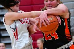 CIAC Girls Basketball; Wolcott vs. Watertown - Photo # 600