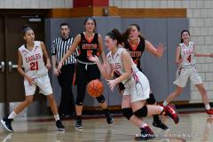 CIAC Girls Basketball; Wolcott vs. Watertown - Photo # 609