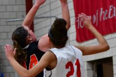 CIAC Girls Basketball; Wolcott vs. Watertown - Photo # 612