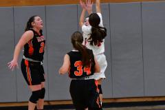 CIAC Girls Basketball; Wolcott vs. Watertown - Photo # 638