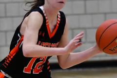CIAC Girls Basketball; Wolcott vs. Watertown - Photo # 641