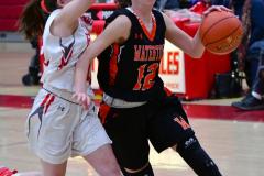CIAC Girls Basketball; Wolcott vs. Watertown - Photo # 642