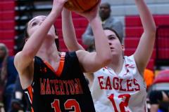 CIAC Girls Basketball; Wolcott vs. Watertown - Photo # 645