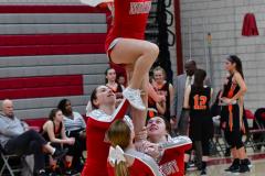 CIAC Girls Basketball; Wolcott vs. Watertown - Photo # 681