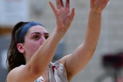 CIAC Girls Basketball; Wolcott vs. Watertown - Photo # 734