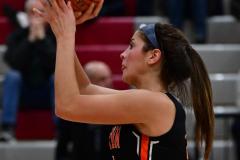 CIAC Girls Basketball; Wolcott vs. Watertown - Photo # 749