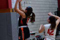 CIAC Girls Basketball; Wolcott vs. Watertown - Photo # 765