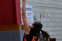 CIAC Girls Basketball; Wolcott vs. Watertown - Photo # 766