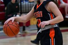 CIAC Girls Basketball; Wolcott vs. Watertown - Photo # 772