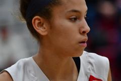 CIAC Girls Basketball; Wolcott vs. Watertown - Photo # 774