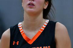 CIAC Girls Basketball; Wolcott vs. Watertown - Photo # 781