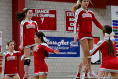 CIAC Girls Basketball; Wolcott vs. Watertown - Photo # 788