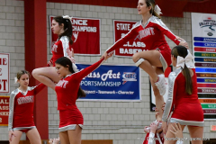 CIAC Girls Basketball; Wolcott vs. Watertown - Photo # 790