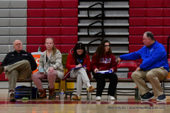 CIAC Girls Basketball; Wolcott vs. St. Paul - Photo # 224