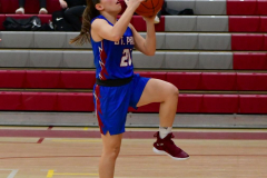 CIAC Girls Basketball; Wolcott vs. St. Paul - Photo # 241