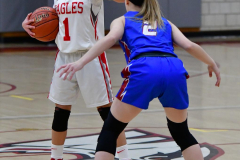 CIAC Girls Basketball; Wolcott vs. St. Paul - Photo # 291