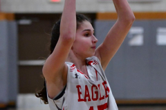 CIAC Girls Basketball; Wolcott vs. St. Paul - Photo # 292