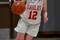 CIAC Girls Basketball; Wolcott vs. St. Paul - Photo # 300
