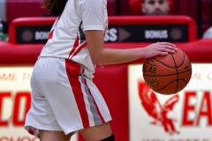 CIAC Girls Basketball; Wolcott vs. St. Paul - Photo # 302