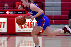 CIAC Girls Basketball; Wolcott vs. St. Paul - Photo # 303