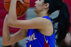 CIAC Girls Basketball; Wolcott vs. St. Paul - Photo # 321