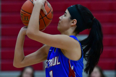 CIAC Girls Basketball; Wolcott vs. St. Paul - Photo # 323
