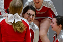 CIAC Girls Basketball; Wolcott vs. St. Paul - Photo # 349