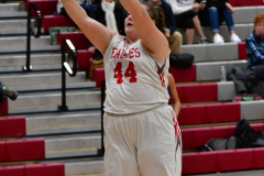 CIAC Girls Basketball; Wolcott vs. St. Paul - Photo # 361