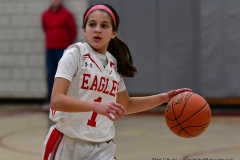 CIAC Girls Basketball; Wolcott vs. St. Paul - Photo # 363