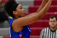 CIAC Girls Basketball; Wolcott vs. St. Paul - Photo # 378