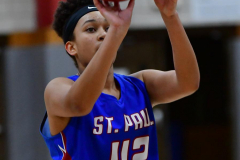CIAC Girls Basketball; Wolcott vs. St. Paul - Photo # 384