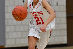 CIAC Girls Basketball; Wolcott vs. St. Paul - Photo # 399