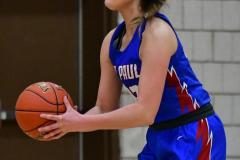 CIAC Girls Basketball; Wolcott vs. St. Paul - Photo # 412