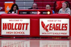 CIAC Girls Basketball; Wolcott vs. St. Paul - Photo # 416