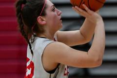 CIAC Girls Basketball; Wolcott vs. St. Paul - Photo # 424