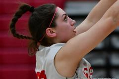 CIAC Girls Basketball; Wolcott vs. St. Paul - Photo # 426