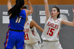 CIAC Girls Basketball; Wolcott vs. St. Paul - Photo # 437