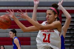 CIAC Girls Basketball; Wolcott vs. St. Paul - Photo # 449