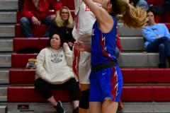CIAC Girls Basketball; Wolcott vs. St. Paul - Photo # 460