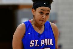 CIAC Girls Basketball; Wolcott vs. St. Paul - Photo # 504