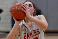 CIAC Girls Basketball; Wolcott vs. St. Paul - Photo # 517