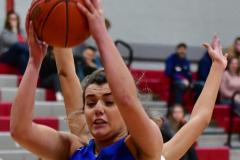 CIAC Girls Basketball; Wolcott vs. St. Paul - Photo # 521