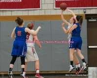 CIAC Girls Basketball; Wolcott 33 vs. St. Paul 59 - Photo # (114)