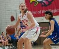 CIAC Girls Basketball; Wolcott 33 vs. St. Paul 59 - Photo # (120)