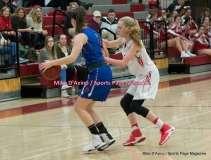CIAC Girls Basketball; Wolcott 33 vs. St. Paul 59 - Photo # (186)