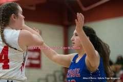 CIAC Girls Basketball; Wolcott 33 vs. St. Paul 59 - Photo # (249)