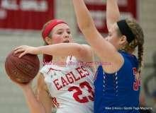 CIAC Girls Basketball; Wolcott 33 vs. St. Paul 59 - Photo # (250)